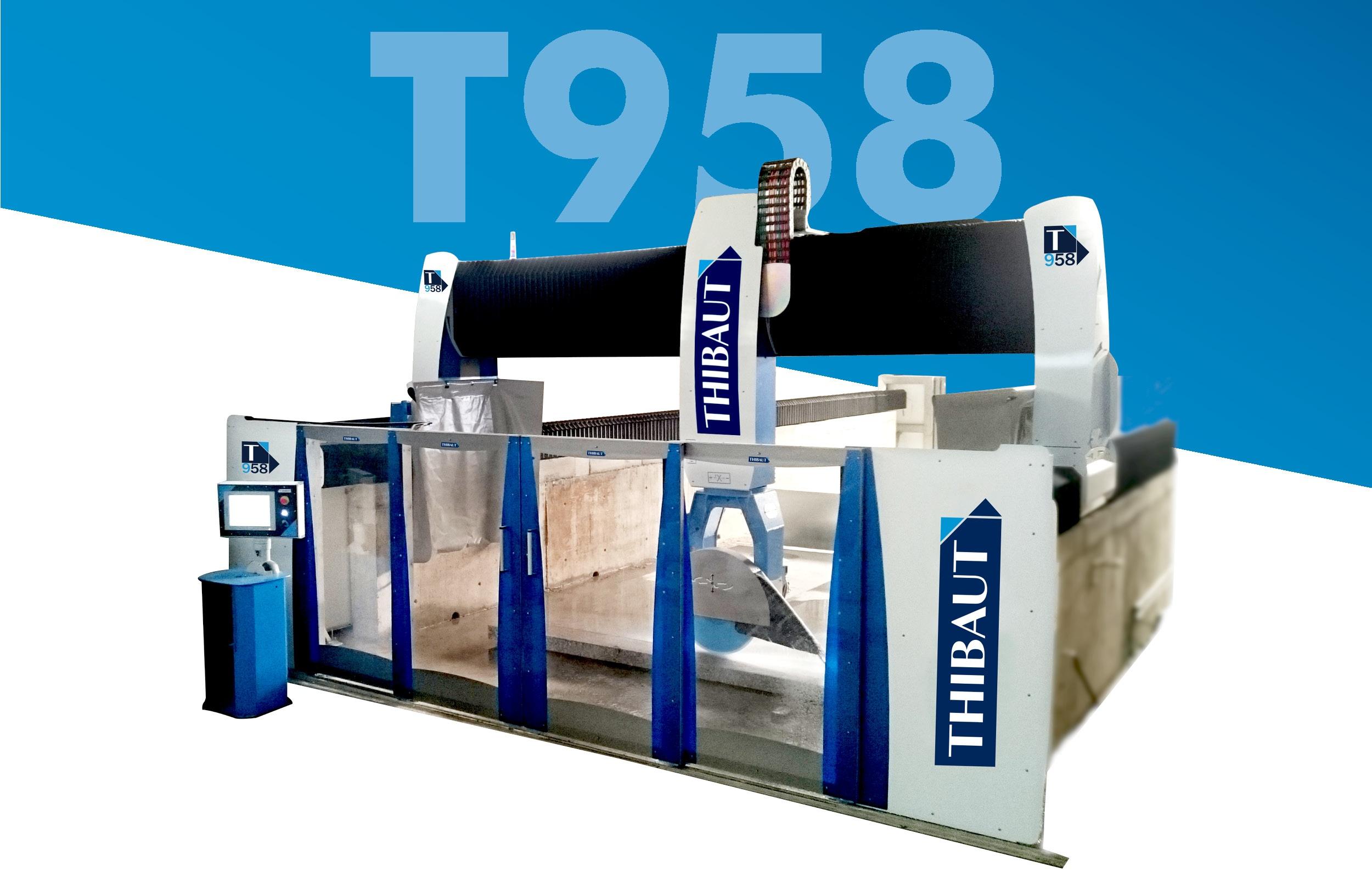 Multifunction machine / T958 / 5 axes